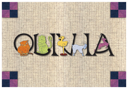 Animal Alphabet Custom Placemats