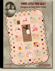 Three Little Pigs Quilt